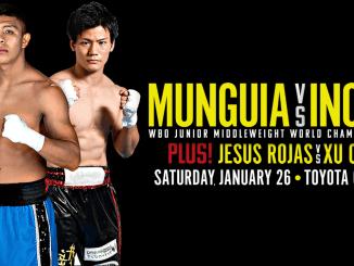 Jaime Munguia vs Takeshi Inoue Promo