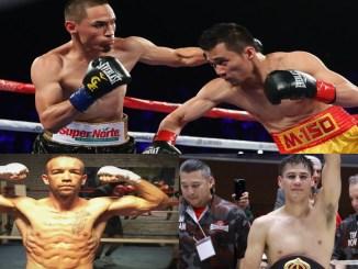Srisaket SOr Rungvisai vs Juan Francisco Estrada I, TJ Doheny and Daniel Roman