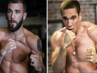 Caleb Plant and Mike Lee