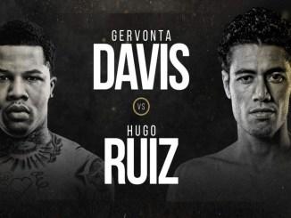 Gervonta Davis vs Hugo Ruiz
