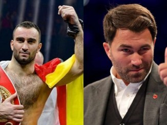 Murat Gassiev and Eddie Hearn
