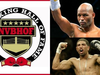 Nevada Boxing Hall of Fame Logo, Bernard Hopkins and Winky Wright