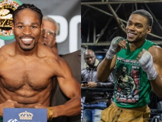 Shawn Porter and Errol Spence