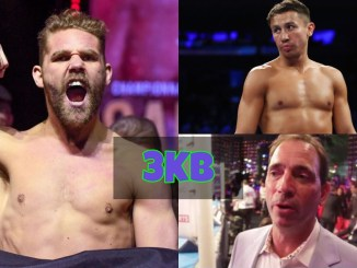 Billy Joe Saunders, Gennady Golovkin and Tom Loeffler