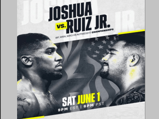 Anthony Joshua vs Andy Ruiz Jr Banner
