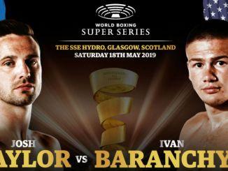Josh Taylor vs Ivan Baranchyk WBSS Banner