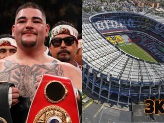 Andy Ruiz Jr and Estadio Azteca
