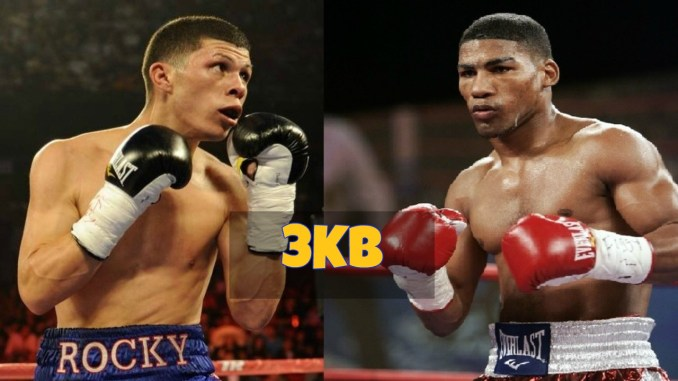 Roman Martinez and Yuriorkis Gamboa