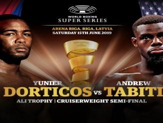 Yunier Dorticos vs Andrew Tabiti Poster