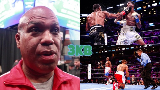 Andre Rozier, Marcus Browne hit with right hook and Curtis Stevens down