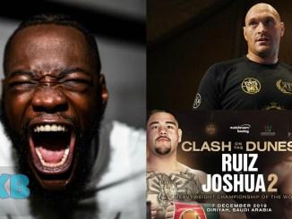 Deontay Wilder, Tyson Fury and Ruiz vs Joshua 2 Banner