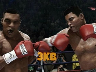Muhammad Ali and Mike Tyson on Fight Night Champion