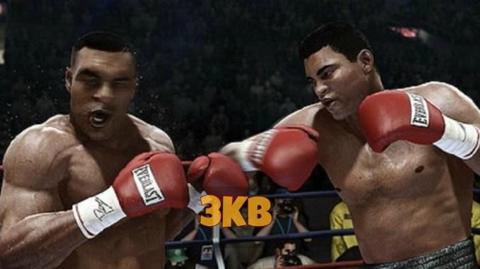 Muhammad Ali and Mike Tyson on Fight Night Champion