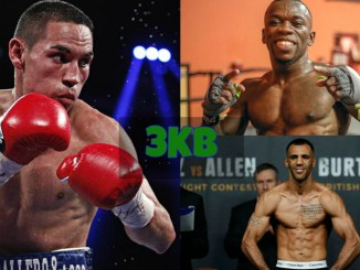 Juan Francisco Estrada, Dewayne Beamon and Kal Yafai