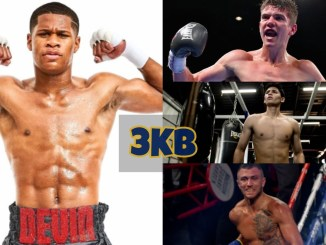 Devin Haney, Luke Campbell, Ryan Garcia and Vasiliy Lomachenko