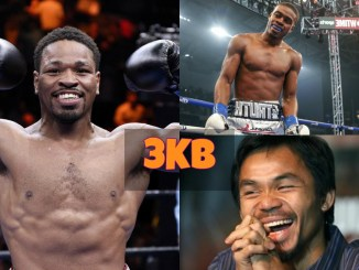 Shawn Porter, Errol Spence Jr and Manny Pacquiao
