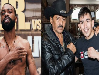 Gary Russell Jr., Leo Santa Cruz and his father
