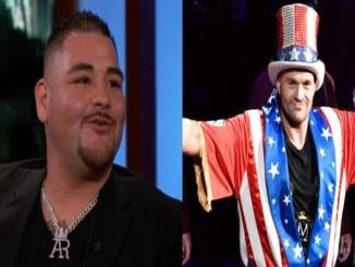 Andy Ruiz, Tyson Fury (right)