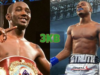 Terence Crawford and Errol Spence Jr