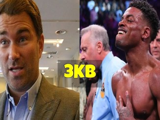 Eddie Hearn and Errol Spence Jr