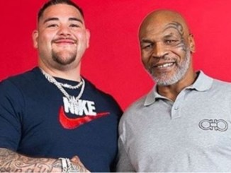 Andy Ruiz and Mike Tyson