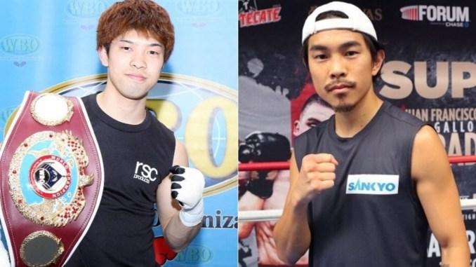 Kosei Tanaka, Kazuto Ioka (right)