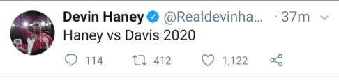 Devin Haney Wants Gervonta Davis