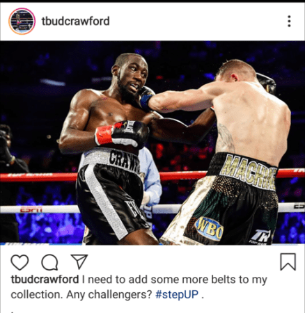 Terence Crawford Queries All Challengers