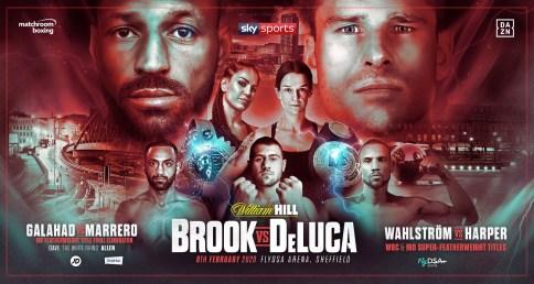 Kell Brook vs Mark DeLuca Banner