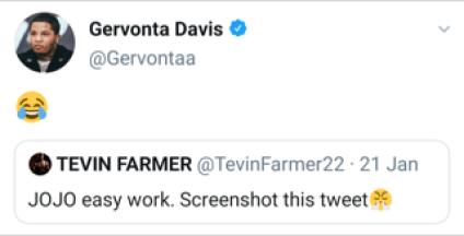 Gervonta Davis via Twitter