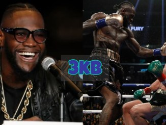 Deontay Wilder Knocks Tyson Fury Down Twelfth Round First Fight