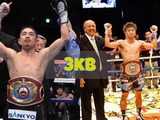 Kazuto Ioka and Kosei Tanaka