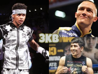 Shakur Stevenson, Josh Warrington and Leo Santa Cruz