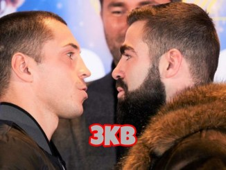 Scott Quigg and Jono Carroll face to face