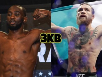 Terence Crawford (left), Conor McGregor