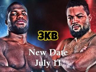 Daniel Dubois v Joe Joyce Moved To July 11!