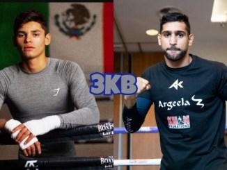 Ryan Garcia and Amir Khan