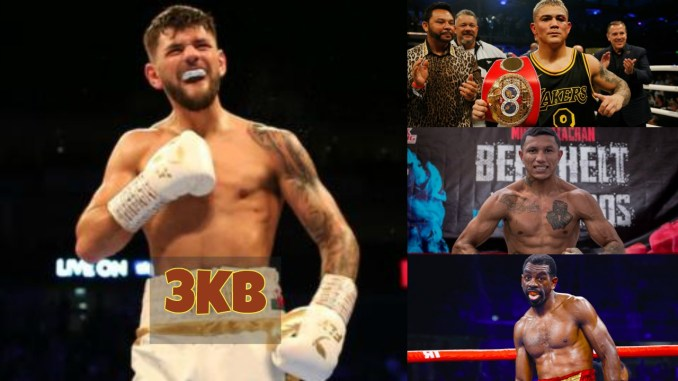 Joe Cordina, JoJo Diaz, Miguel Berchelt and Jamel Herring