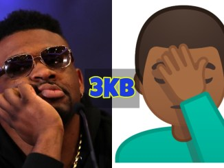 Jarrell Miller and Face Palm Emoji
