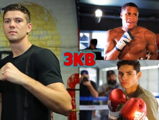 Luke Campbell (left), Devin Haney (top), Ryan Garcia
