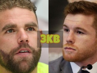 Billy Joe Saunders and Canelo Alvarez