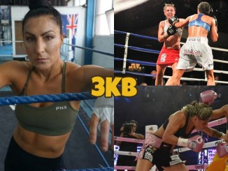 Susie Ramadan and still photos of her biggest fights