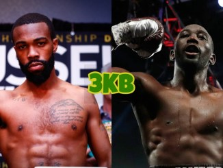 Gary Russell Jr (left), Terence Crawford