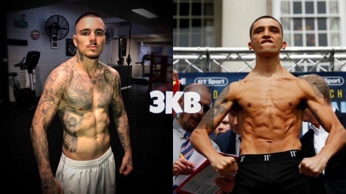 George Kambosos Jr and Lee Selby