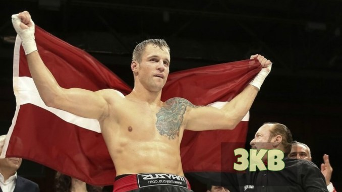Mairis Briedis celebrates WBSS win