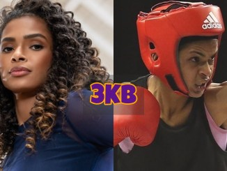 Ramla Ali at a photoshoot and in the boxing ring
