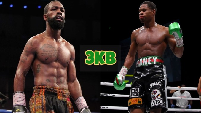 GaryRussell Jr and Devin Haney