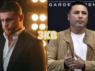 "Saul ""Canelo"" Alvarez (left), Oscar De La Hoya"