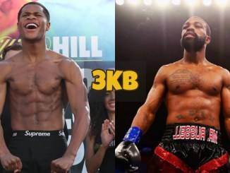 Devin Haney and Gary Russell Jr