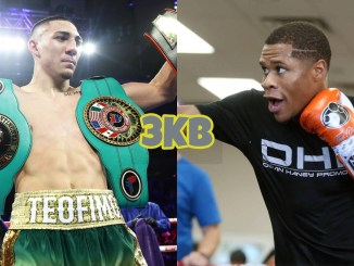 Teofimo Lopez (left), Devin Haney